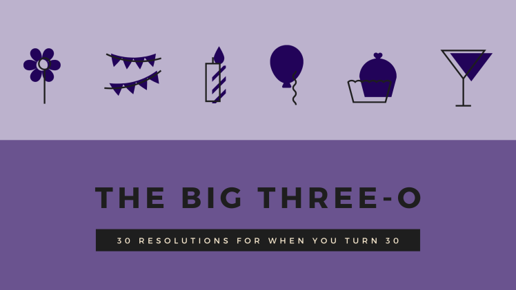 blog featured image for 30 resolutions you should take when you turn thirty